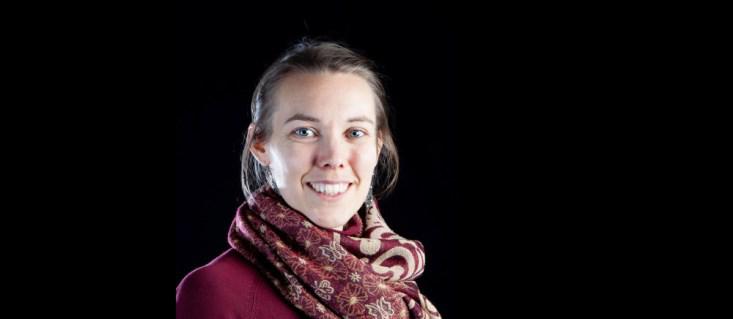 Emma Dalväg - en av initiativtagarna.